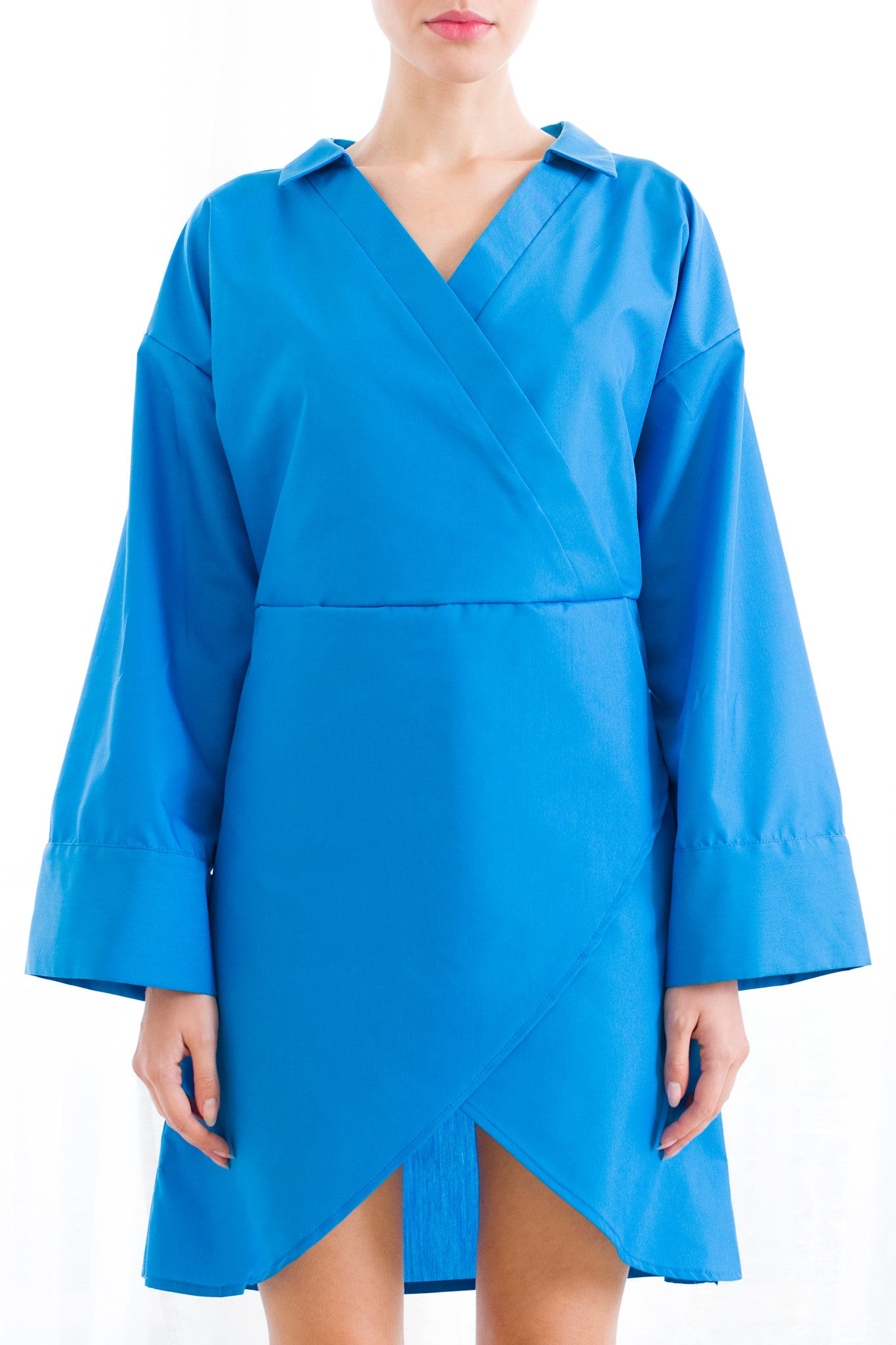Yukata Dress (Ocean Blue)