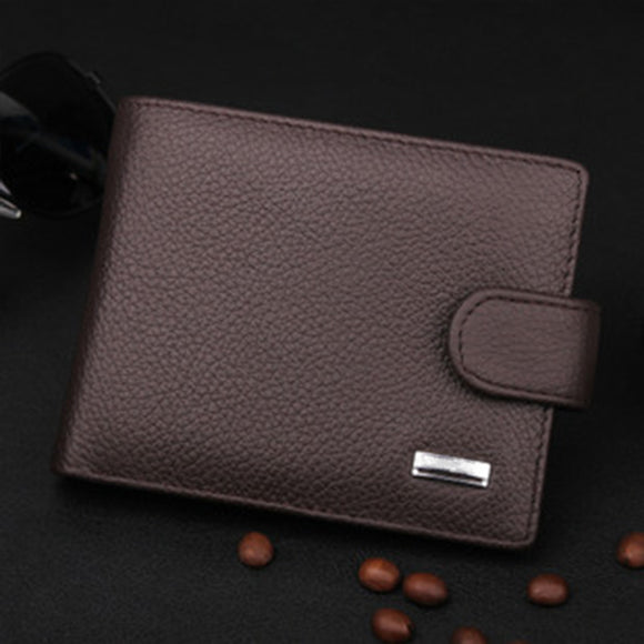 Luxury Vintage Genuine Leather Wallet
