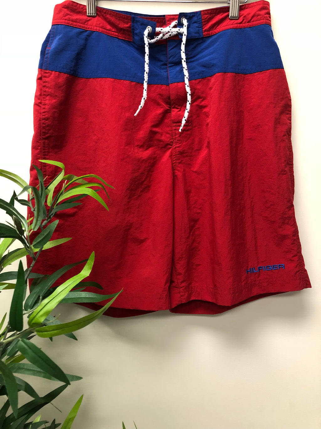 Hilfiger red board shorts