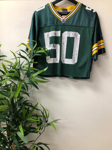 Green Bay cropped football jersey