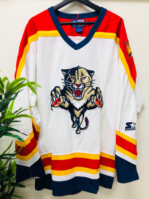 Vintage Starter Florida Panthers Hockey Jersey