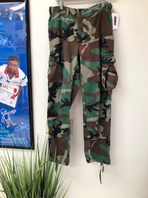 VTG GREEN ARMY PANTS