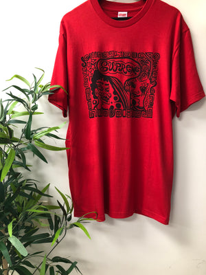 Supreme faces tee 18""