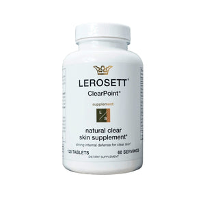 LEROSETT® CLEARPOINT® ACNE SUPPLEMENTS