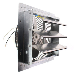 "2SHE SERIES 10"" SHUTTER MOUNT EXHAUST FAN FANTECH"