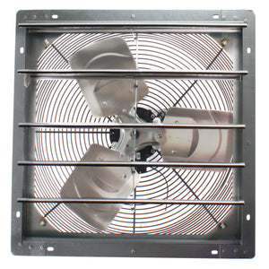 "2SHE SERIES 18"" SHUTTER MOUNT EXHAUST FAN FANTECH"