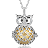Bola de Grossesse - Hibou Bola de Grossesse - Collier de Maternité Orange / 80 cm - Parents Sereins