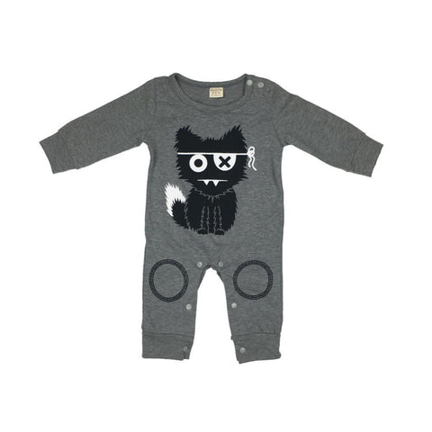 Combinaison Pyjama Chat Cartoon Pyjama - Combinaison - Vêtements Enfants 0 - 3 mois - Parents Sereins