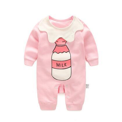 Combinaison Pyjama Milk Rose Pyjama - Combinaison - Vêtements Enfants 3M - Parents Sereins