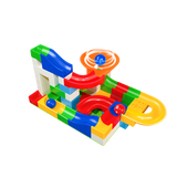 MARBLY RUN ™ (2019) Circuit de Course de Billes à Construire (compatible Lego et Duplo) - Parents Sereins
