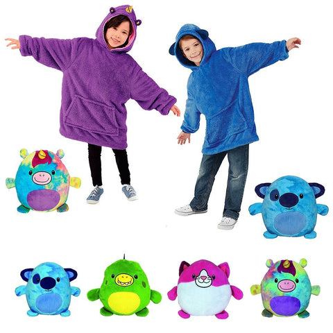 SNUGGLY PETS ™ 2 en 1 : Sweat & Peluche Animal - Parents Sereins