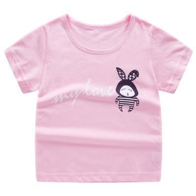 T-Shirt Imprimé - Rose T-Shirt - Vêtements Enfant Rose / 2-3 ans - Parents Sereins