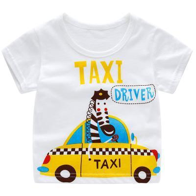 T-Shirt Imprimé - Taxi T-Shirt - Vêtements Enfant Taxi / 2-3 ans - Parents Sereins