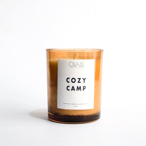 Soy Candle - Cozy Camp
