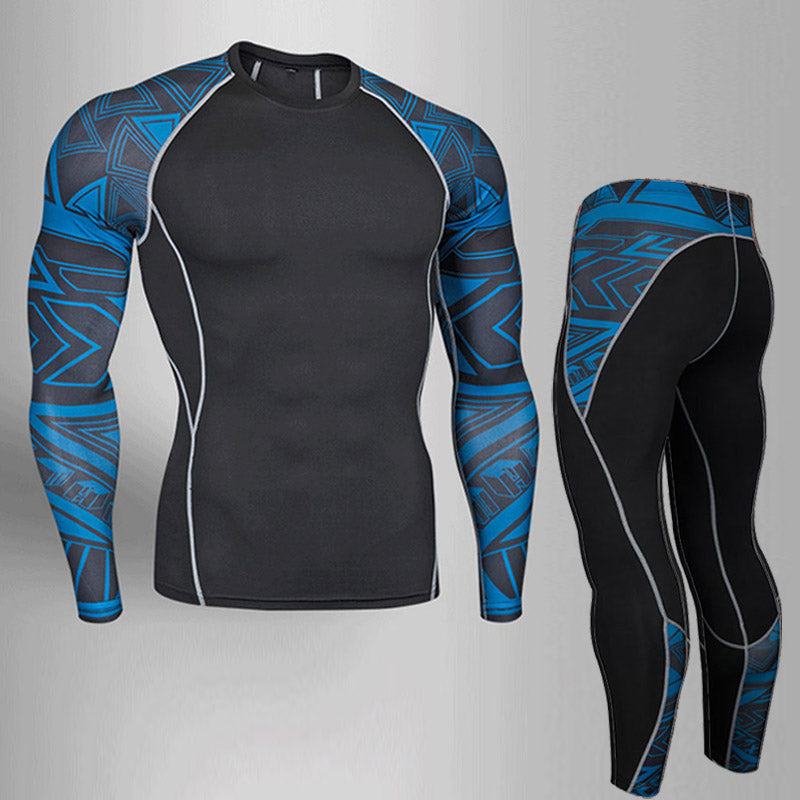 873848384 Compression Fitness Long Sleeve Shirt and Pants – She Wolf Yoga