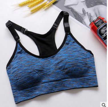 46a864b75 Phikeseya Fitness Women Running Yoga Bra Push Up Sport Bra Athletic Ve –  She Wolf Yoga