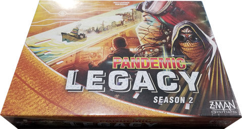 Pandemic Legacy Season 2 Board Game (Yellow Edition)