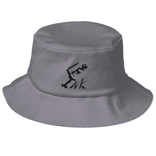 Old School Logo Bucket Hat