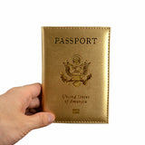 Pretty In Pink or Girly Gold Passport Cover