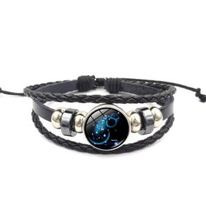 Trendy Zodiac Sign Constellation Bracelet