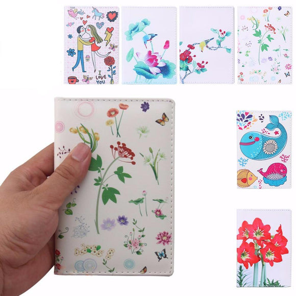 Lovely Drawing Designs Passport Cover