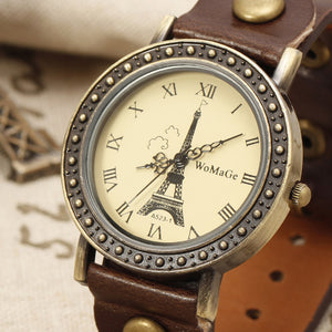 Vintage Eiffel Tower Luxury Watch