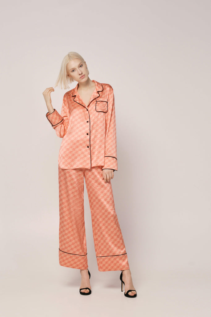 PRINT by JIA SILK PAJAMAS
