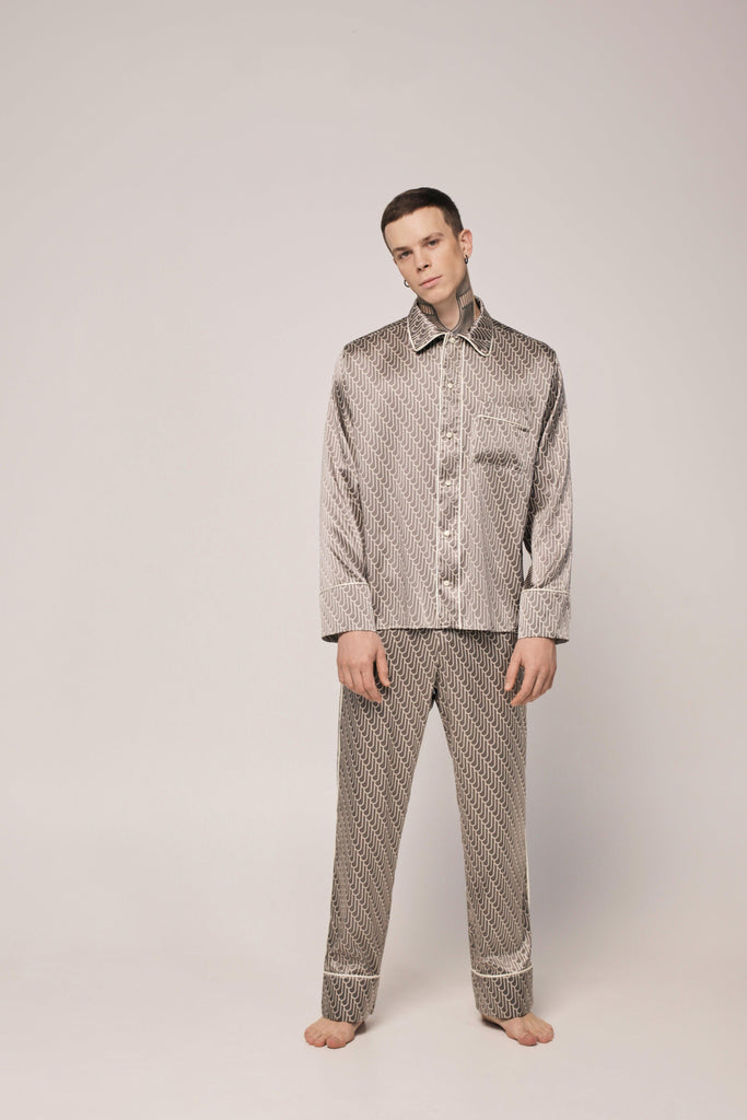 SILK PAJAMAS for MAN