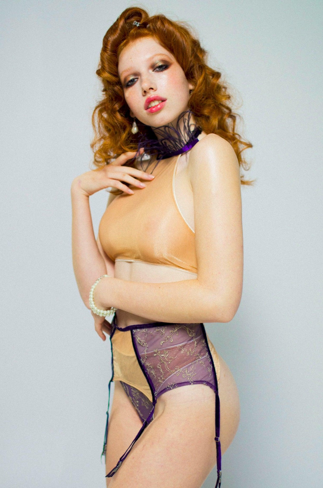 Mary Beale suspender belt