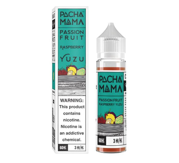 Pachamama Passion Fruit Rasberry Yuzu 60ml E-Juice