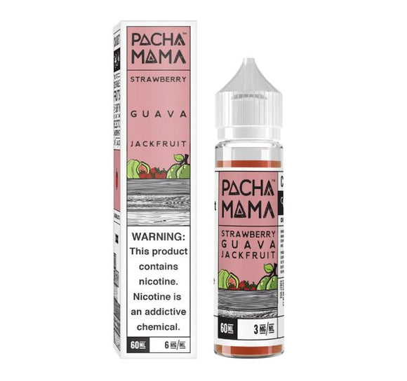 Pachamama Strawberry Guava Jackfruit 60ml E-Juice