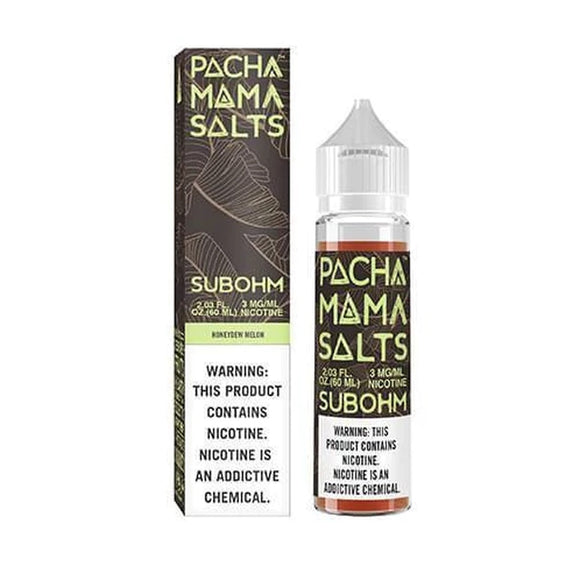 Pachamama Salts Honeydew Melon 60ml E-Juice