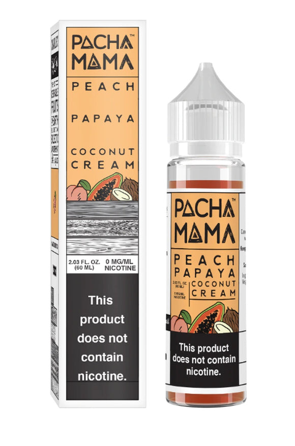 Pachamama Peach Papaya Coconut Cream 60ml E-Juice