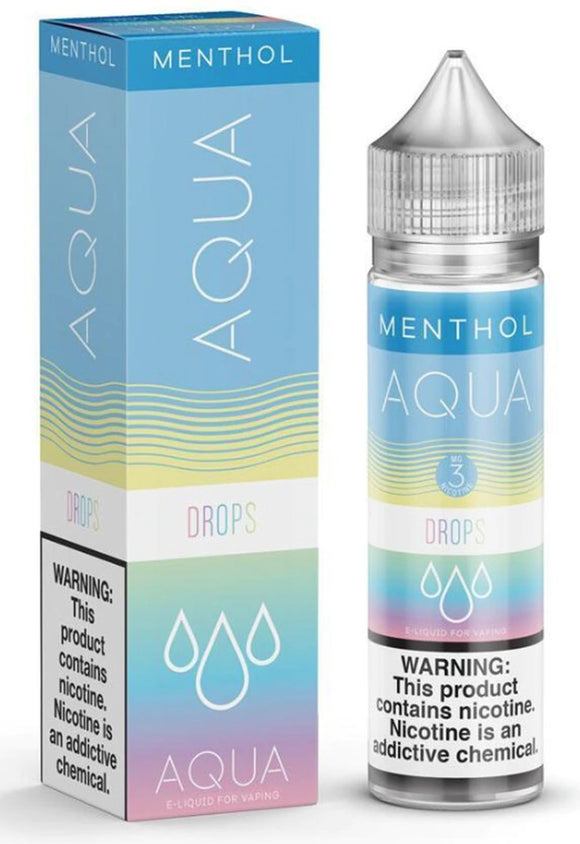 Aqua Drops Menthol 60ml E-Juice ECIGARED