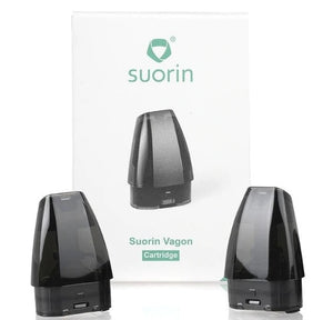 Suorin Vagon AiO Replacement Pod Cartridge - 2PK Ecigared