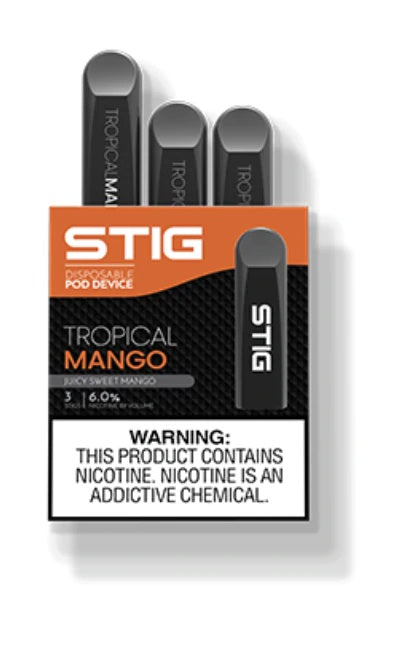 VGOD STIG Disposable Pod Device Mango - 3PK