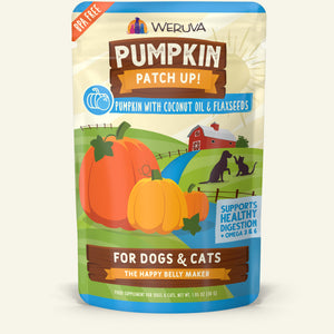 Weruva Pumpkin Patch Up! Pumpkin with Coconut Oil & Flaxseeds Wet Dog and Cat Food