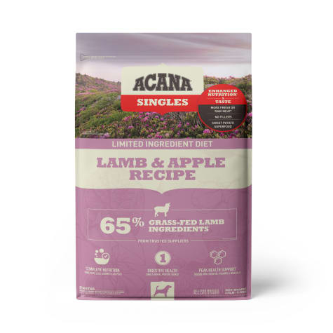 Acana Singles Lamb & Apple Grain-Free Dry Dog Food