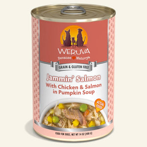 Weruva Jammin' Salmon Grain-Free Wet Dog Food