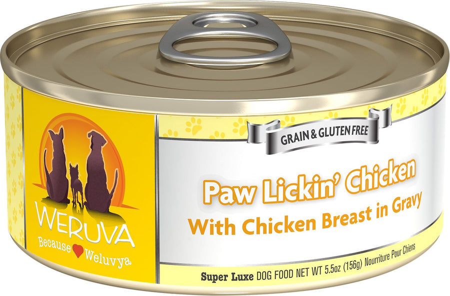 Weruva Paw Lickin' Chicken Grain-Free Wet Dog Food-Le Pup Pet Supplies and Grooming
