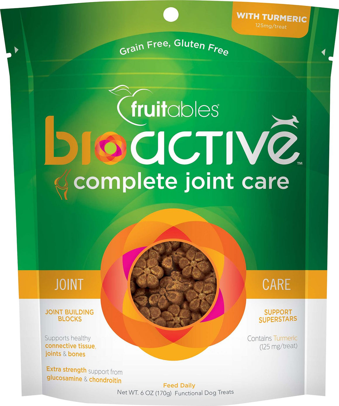 Fruitables BioActive Complete Joint Care Soft Chews Dog Treats