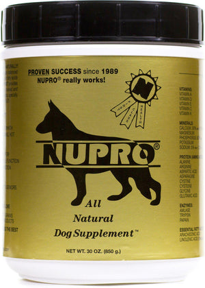 Nupro All Natural Supplement (Gold Label) Dog Supply-Le Pup Pet Supplies and Grooming