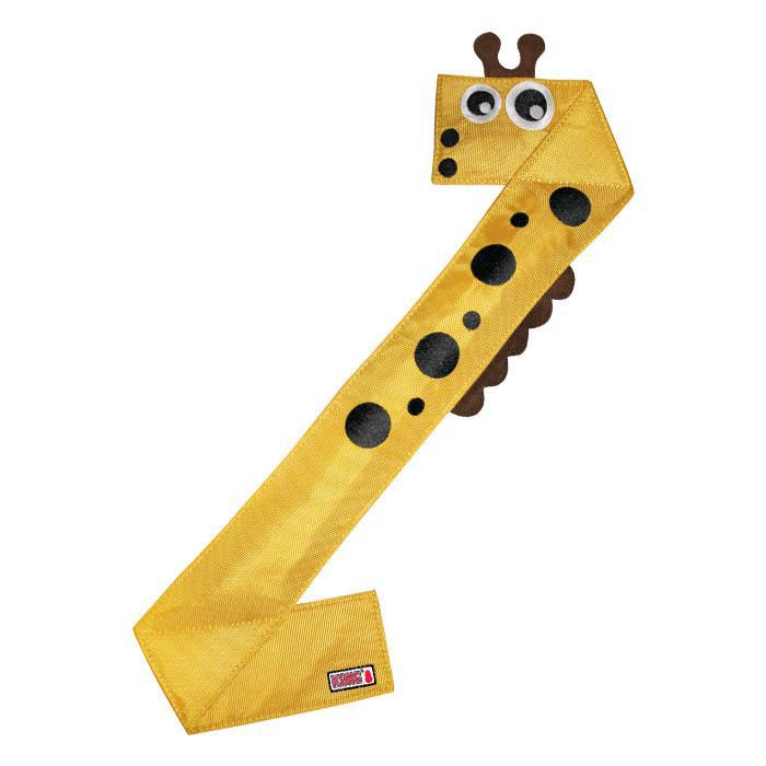 Kong Ballistic Flatz Giraffe Dog Toy-Le Pup Pet Supplies and Grooming