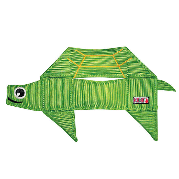Kong Ballistic Flatz Turtle Dog Toy-Le Pup Pet Supplies and Grooming
