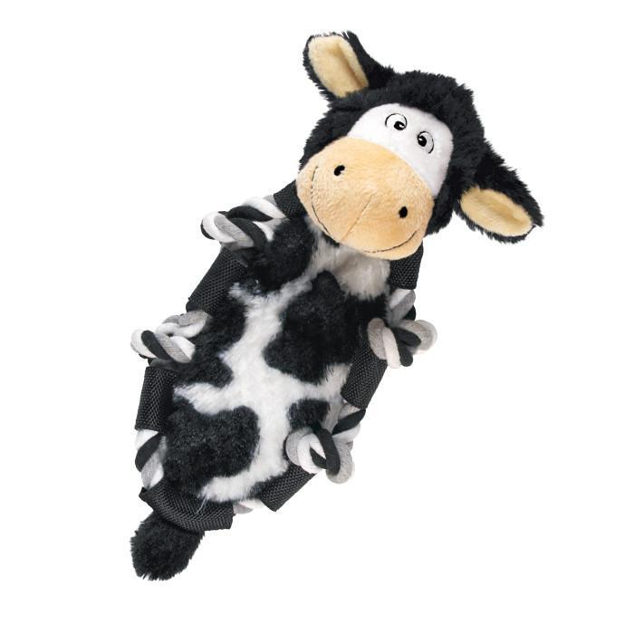 Kong Barnyard Knots Cow Dog Toy-Le Pup Pet Supplies and Grooming