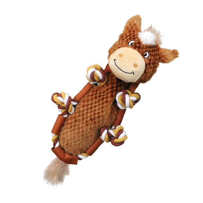 Kong Barnyard Knots Horse Dog Toy-Le Pup Pet Supplies and Grooming