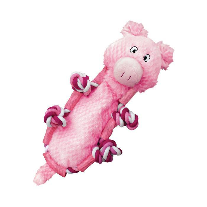 Kong Barnyard Knots Pig Dog Toy-Le Pup Pet Supplies and Grooming