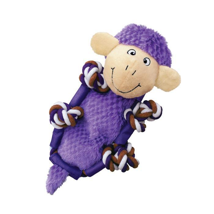 Kong Barnyard Knots Sheep Dog Toy-Le Pup Pet Supplies and Grooming
