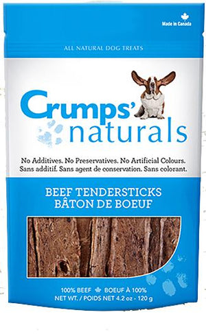 Crumps' Naturals Beef Tendersticks Dog Treat-Le Pup Pet Supplies and Grooming