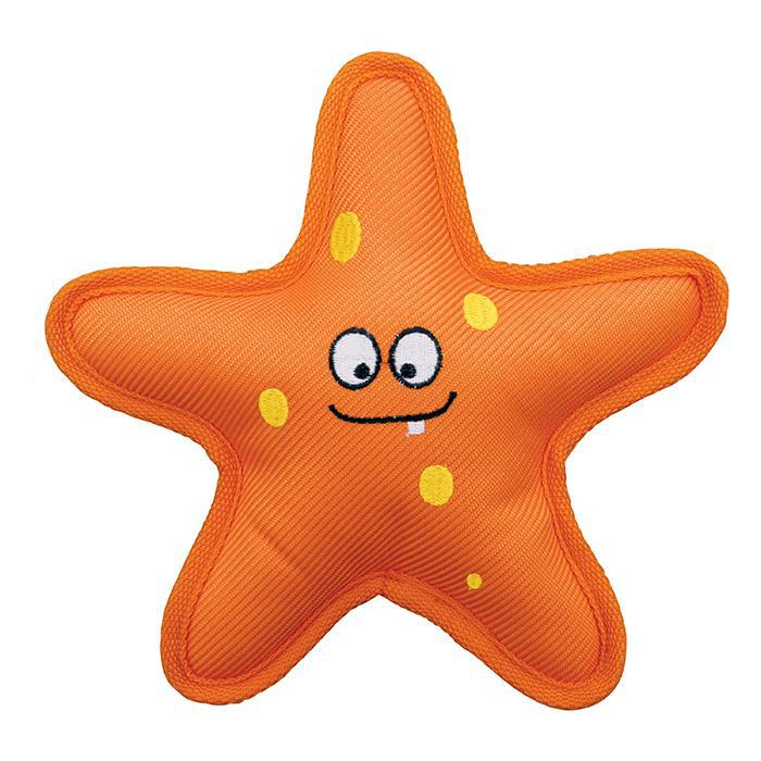Kong Belly Flops Starfish Dog Toy-Le Pup Pet Supplies and Grooming